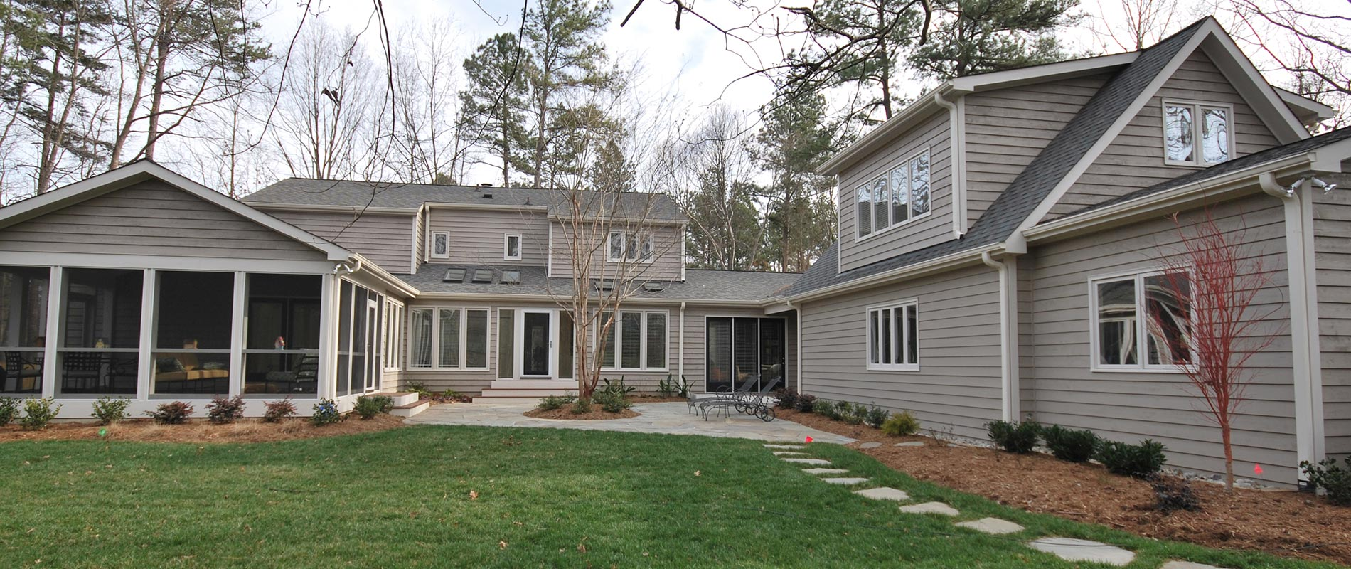 Exterior House Remodel   Complete Construction Company   Apex, NC