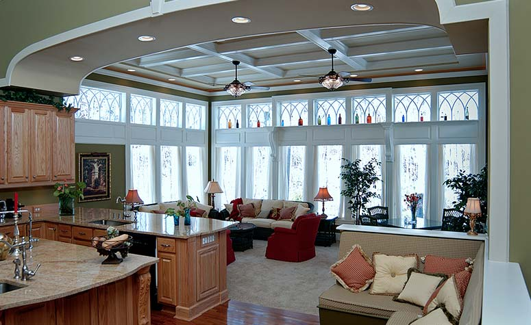 Living Room Remodel | Complete Construction Company | Apex, NC