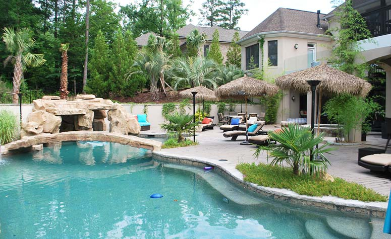 Outdoor Pool Remodel   Complete Construction Company   Apex, NC