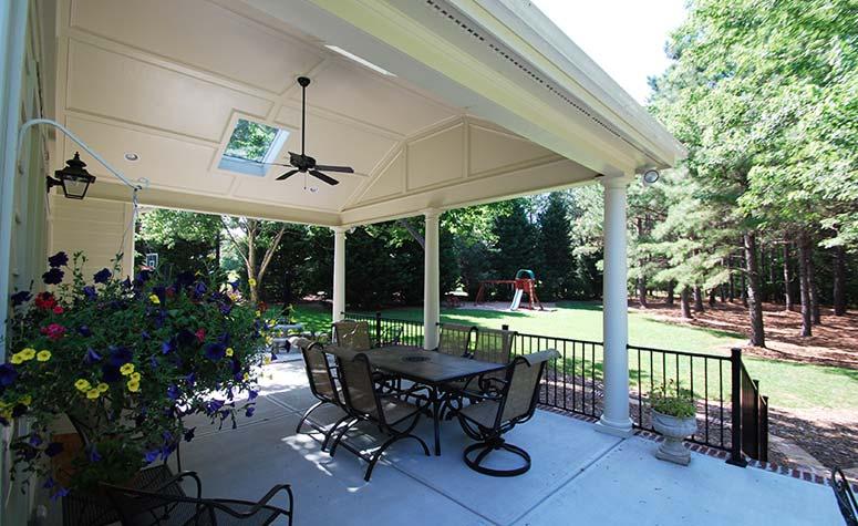 Outdoor Patio Renovation   Complete Construction Company   Apex, NC