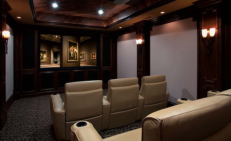Theatre Room | Complete Construction Company | Apex, NC
