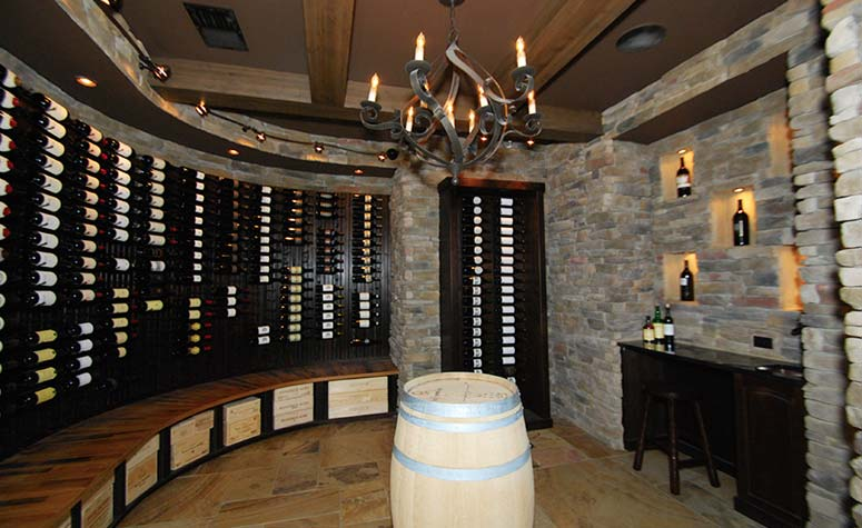 Personal Wine Cellar   Complete Construction Company   Apex, NC