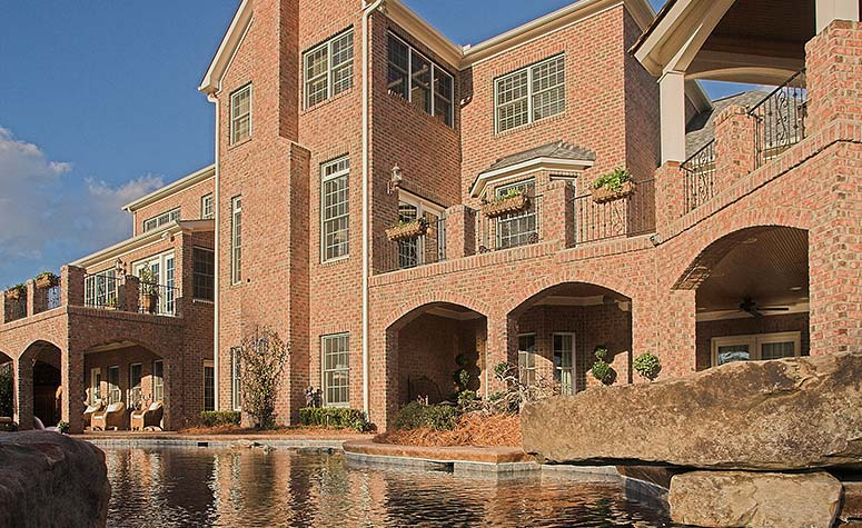 Brick Mansion with Pool