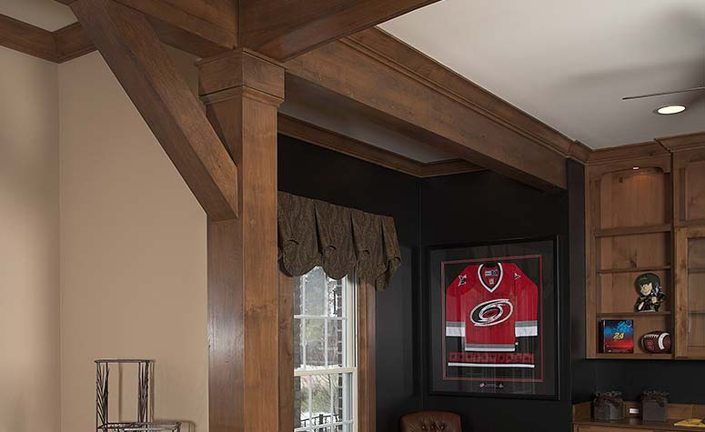 Card Room Beams