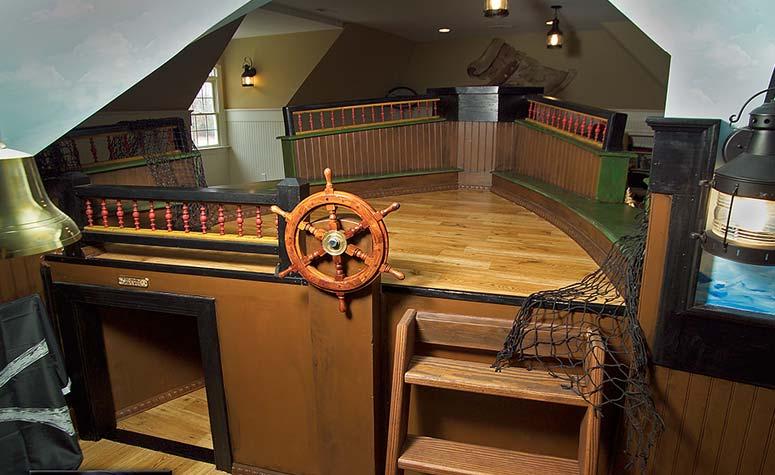 Ship Themed Play Room