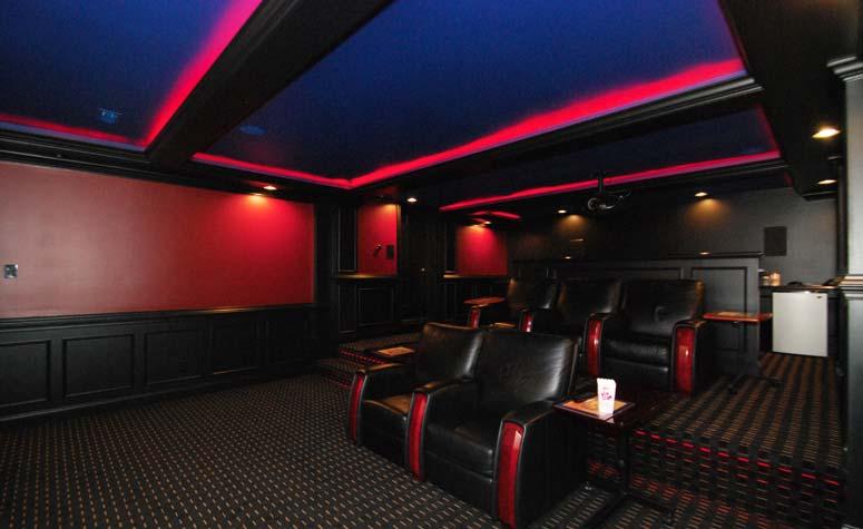 Neon Theatre Room