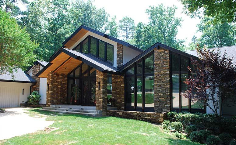 Stone Home Exterior