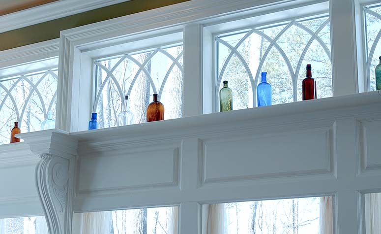 Windows with Bottles